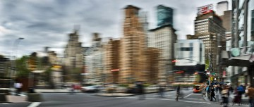crossing-columbus-circle_gregor-pchalek-fotokunst